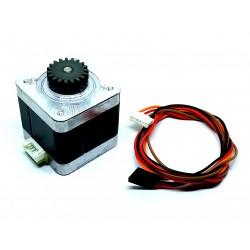 Nema 17 4.2 Kg-cm Bipolar Stepper Motor With 19 Teeth Gear for CNC Robotics Reprap 3D Printer