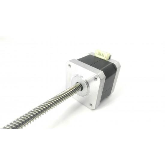 Nema 17 4.2 Kg-cm Bipolar Stepper Motor with 300 mm Lead Screw square thread TR8 8 mm and Anti-backlash Nut CNC Robotics DIY Projects 3D Printer