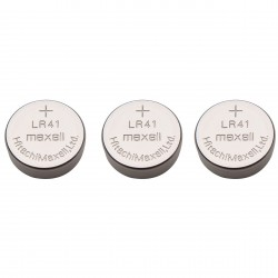 10pcs 1.5V LR41 Li-ion Battery (Non-Rechargeable) LR41 Button Coin Cell Battery for Calculator Watch Electronic Devices