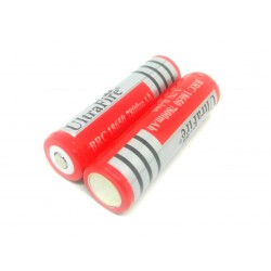 2Pcs 3.7V 7800 mAh 18650 Li-ion battery Rechargeable Cell Battery For Power Bank GPS iPOD Tablet Torch Toys DIY