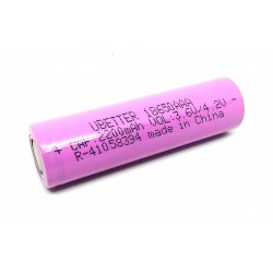 2Pcs 3.7V 2200 mAh 18650 Li-ion battery Rechargeable Cell Battery For Power Bank GPS iPOD Tablet Torch Toys DIY