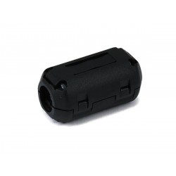 11mm Noise Suppressor EMI RFI Clip Choke Ferrite Core Cable Filter Black JG