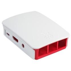 Raspberry Pi 3 Case for Raspberry Pi 3 Model B, B+ only (Red/White)