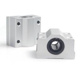 1pcs SC10UU 10mm Linear Ball Al Block Bearing for CNC Robotics DIY Projects