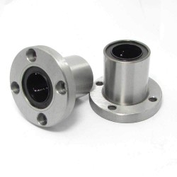 1pcs LMF12UU 12mm Rod Linear Ball Bearing Round Flange for CNC Robotic Machines DIY Project