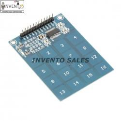 16 Keys TTP226 16 Channel Touch Sensor Module Keypad Switch DIY Touch Button