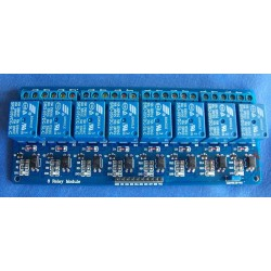 8 CH Eight CHANNEL 12V ULN2003 RELAY BOARD MODULE for RASPBERRY PI AVR