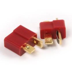 2 pair T- Plug Male & Female Connectors Deans Style For RC LiPo Battery ESC