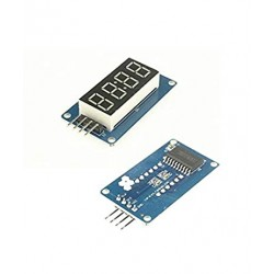 "0.36"" TM1637 4-digit 7-Segment Tube LED Blue Digital Display Module"