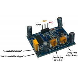 HC-SR501 IR Pyroelectric Infrared IR PIR Motion Sensor Detector Module