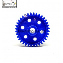 2pcs Plastic Spur gear 36 Teeth 40mm dia, 6.5mm Width, 6mm hole for DIY Projects