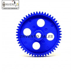 2pcs Plastic Spur gear 50 Teeth 55mm dia, 6.5mm Width, 6mm hole for DIY Projects