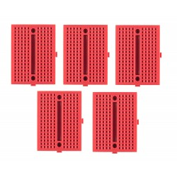 5Pcs Mini Universal Solderless Breadboard 170 Contacts Tie points For DIY Projects