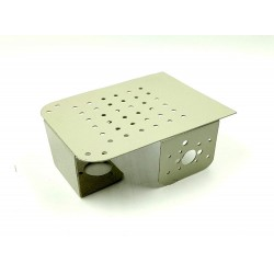 Robot Car Metal Chassis 2 Wheel Platform 130x105x45mm for DC Geared Motor smart car DIY
