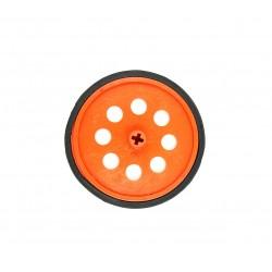 1pcs Plastic Robotic Wheel Durable Rubber Tire Wheel 80mm x 8mm for Bo Dc Motor DC Geared Motor