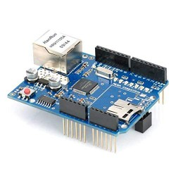 Ethernet Shield for r3 and Mega, Network Expansion Shield Board with Micro SD Card Slot Support