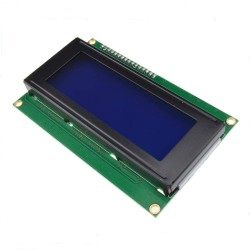 1602 16x2 HD44780 Character LCD yellow-green welded with IIC/I2C Serial Interface Adapter Module