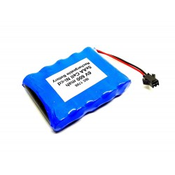 6V 600 mAh Polymer Ni-Cd Rechargeable 5 AA Cell Battery Pack for cordless phone Toy Car DIY Project