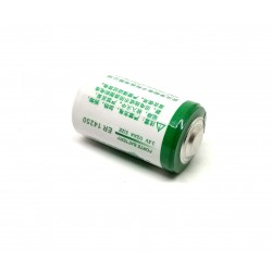 1pcs 3.6V 1200mah ER14250 1/2AA LITHIUM THIONYL CHLORIDE BATTERY (LiSoCl2) Battery Non Rechargeable for CNC PLC FANUC