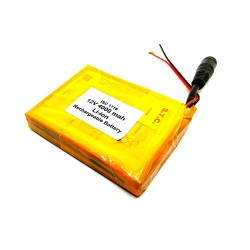 12V 4000 mAh Li-ion Lithium Rechargeable Battery Pack 82x63x15mm For Quadcopter Helicopter Drones GPS PDA DVD iPod Tablet PC DIY