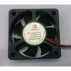 50x50x15mm DC Brushless 12V 2 Pin Cooling Fan for 3D Printer, Robotics, DIY Projects