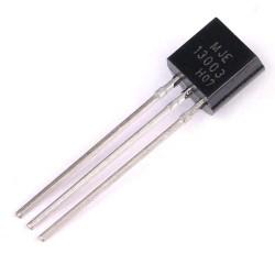 10Pcs MJE13003 Bipolar (BJT) 13003 Transistor, NPN, 400 V, 10 MHz, 1.4 W, 1.5 A, 4 hFE