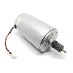 12-24V DC Motor Mitsumi RM2-7614 4200 RPM Dual Shaft High Torque for DIY Projects