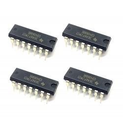 4Pcs 4068 IC CD4068BE Logic Gate IC AND/NAND Gate, CD4068, 8 Input, 6.8 mA, 3 V to 18 V, DIP-14