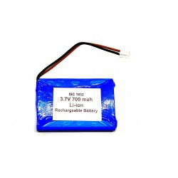 3.7V 700 mAh Li-ion Rechargeable Battery Pack 48x34x6mm For Quadcopter Helicopter Drones GPS PDA DVD iPod Tablet PC DIY