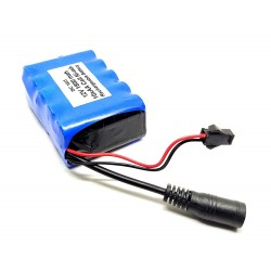 12V 1800 mAh Polymer Ni-mh Rechargeable 10 AA Cell Battery Pack for cordless phone Toy RC Car DIY Project
