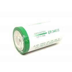 1pcs 3.6V 19000mah ER36415 D SIZE LITHIUM THIONYL CHLORIDE BATTERY (LiSoCl2) Battery Non Rechargeable for CNC PLC FANUC