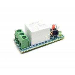 1Pcs 24V 10A 1 Channel Relay Module Low Level Trigger for Home automation DIY Projects