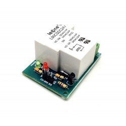 1Pcs 24V 30A 1 Channel Relay Module Low Level Trigger for Home automation DIY Projects
