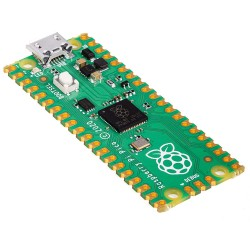 Raspberry PI PICO, Dual-core Arm Cortex M0+ processor, 264KB of SRAM, 2MB of onboard Flash memory