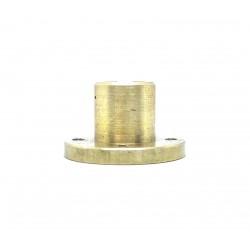 1Pcs M10 nut 1.5mm Pitch 10mm T Nut Brass round Flange Single Nut for 3D Printer CNC Robotics