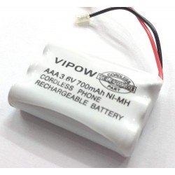 3.6V 700 mAh Polymer NiMH Rechargeable AAA Battery - cordless phone DIY Project