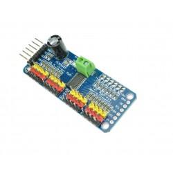 1Pcs 12 Bit 16 Channel PWM Servo Driver Shield IIC interface PCA9685 Module Controller Compatible