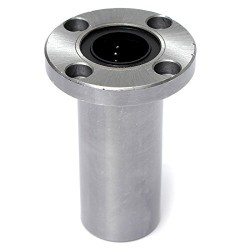 1pcs LMF10LUU 10mm Rod Linear Ball Bearing Round Flange for CNC Robotic Machines DIY Project