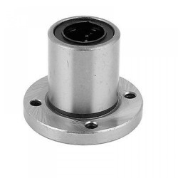 1pcs LMF16UU 16mm Rod Linear Ball Bearing Round Flange for CNC Robotic Machines DIY Project