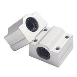 1pcs SC16UU 16mm Linear Ball Al Block Bearing for CNC Robotics DIY Projects