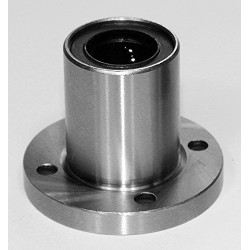 1pcs LMF20UU 20mm Rod Linear Ball Bearing Round Flange for CNC Robotic Machines DIY Project