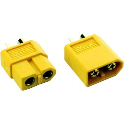 1 Pairs XT60 Male Female Bullet Connectors Plugs for RC Lipo Battery
