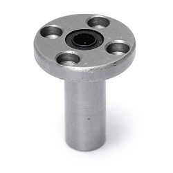 1pcs LMF6LUU 6mm Rod Linear Ball Bearing Round Flange for CNC Robotic Machines DIY Project