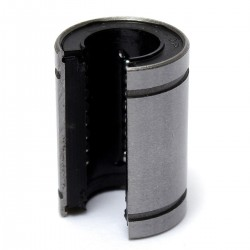 1pcs LM12UU -OP 12mm Rod Linear Rail Ball Bearing for CNC Robotic DIY Projects