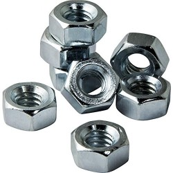 20 pcs M6 Steel Nuts for DIY Projects