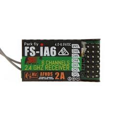 FS IA6 Flysky iA6 2.4G 6 CH RC Receiver with Double Antenna Compatible i4 i6 i10