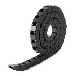25x57mm Plastic Nylon Cable Drag Chain 1000mm (1mtr) Long R75 for CNC Robotics 3D Printer