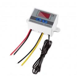 12V 10A 120W Digital Display Temperature Controller XH-W3001 LED Temperature Controller with Thermostat Control Switch Probe