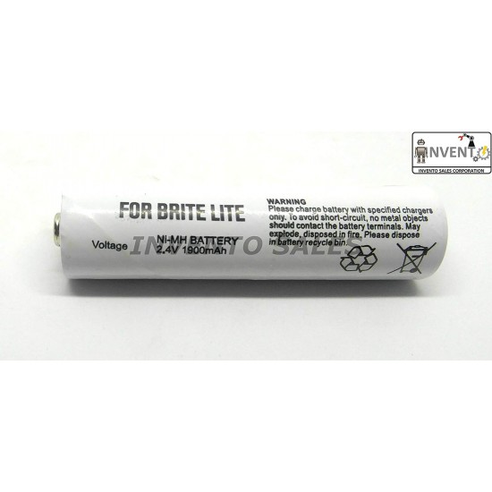 2.4V 1900mah Brite Lite Ni-MH Rechargeable Battery Cell Home Toys Torch DIY