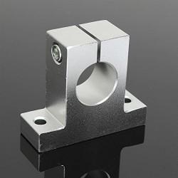 2Pcs SK25 Bracket 25mm Linear Rail, Shaft, Rod Support, For CNC 3D Printer Robotic DIY